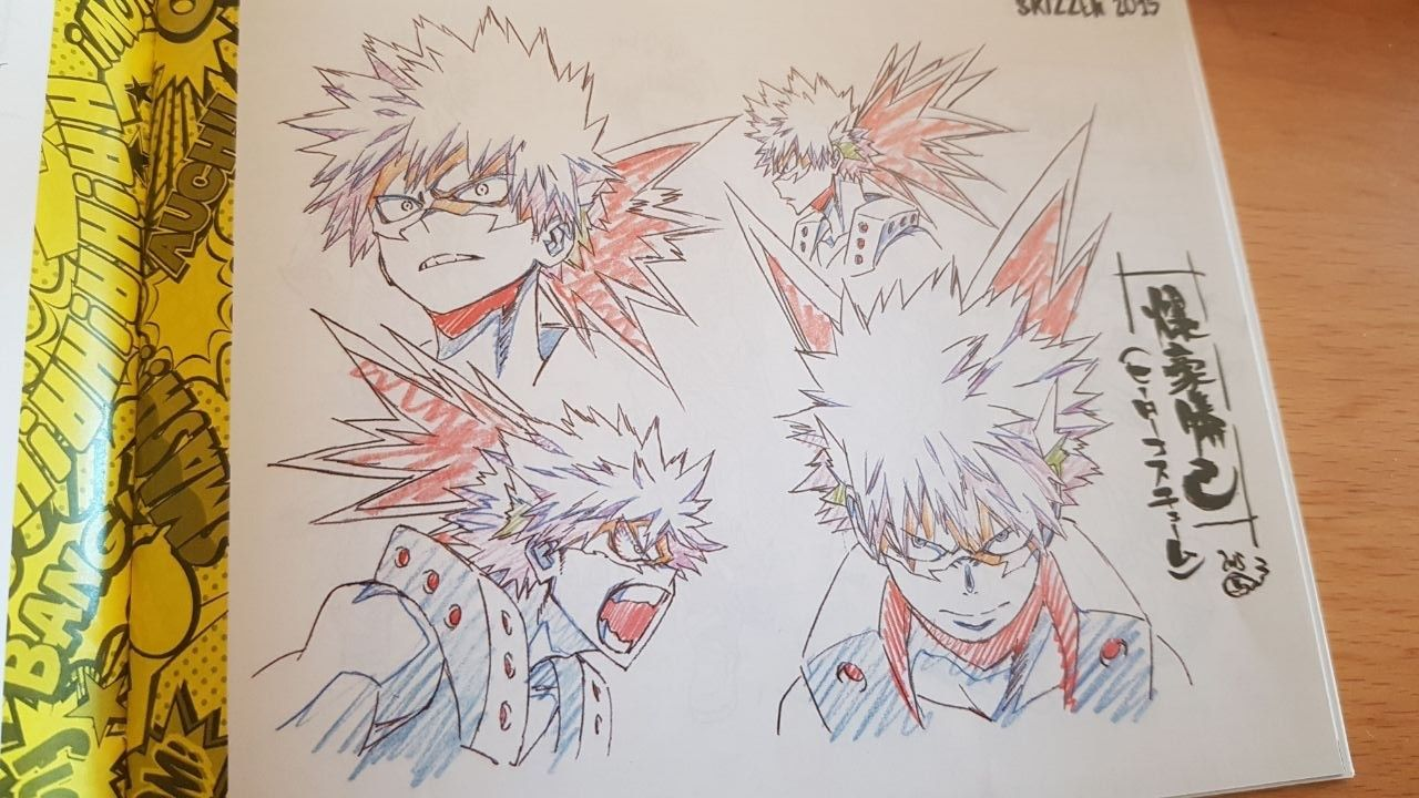 bakugou character sheet bakugou katsuki - hero mask - character sheet - scetches