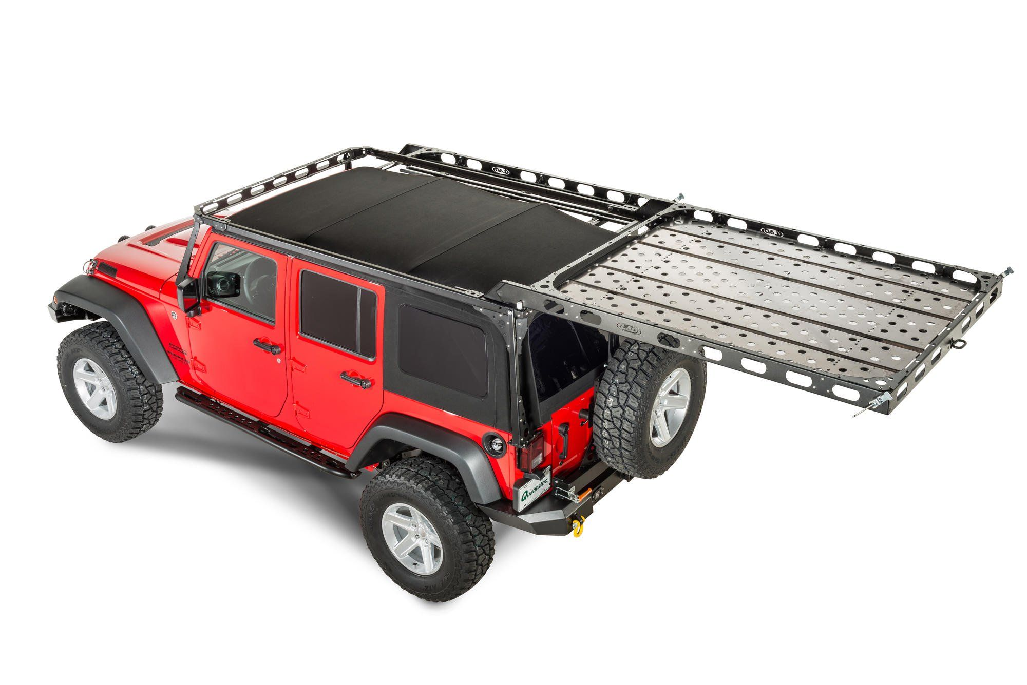 The Lod Easy Access Roof Rack Is A Patent Pending System Which Allows The User To Easily Unlatc Jeep Wrangler Unlimited Jeep Wrangler Jeep Wrangler Accessories