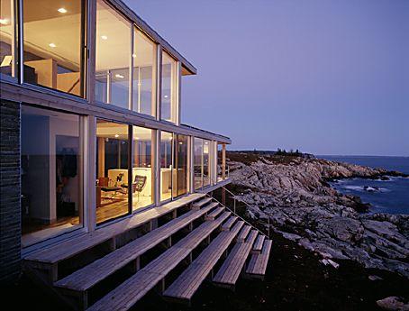 Koehler House by Julie Snow Architects Julia Snow Pinterest - Avantage Inconvenient Maison Ossature Metallique