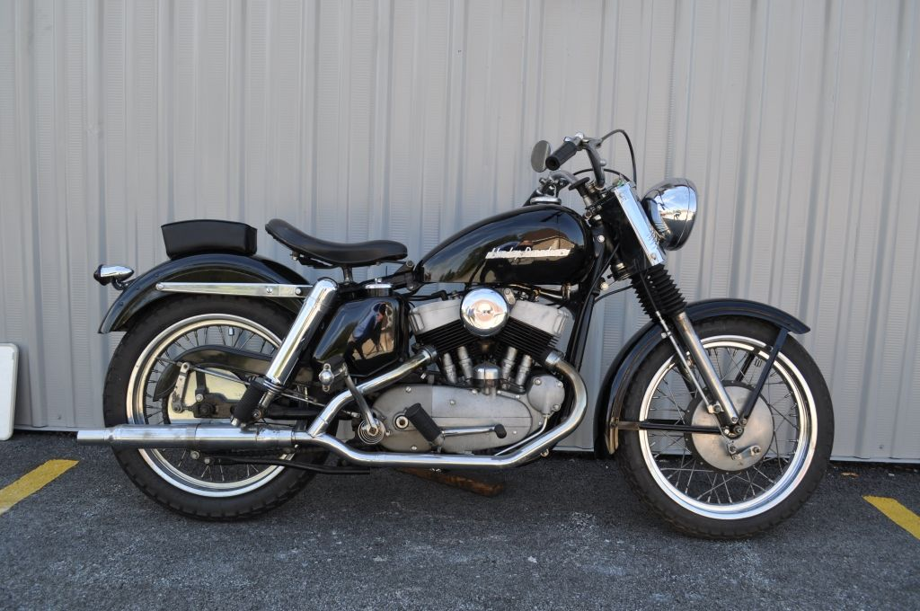 harleydavidson khk Harley Davidson Model KK Sport 1953