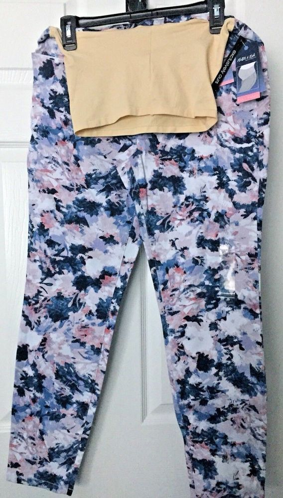 9a4606b8189e7 Flutter & Kick Skinny Ankle Full Panel Floral Maternity Pants. sz 16 NWT  #fashion #clothing #shoes #accessories #womensclothing #maternity (ebay  link)