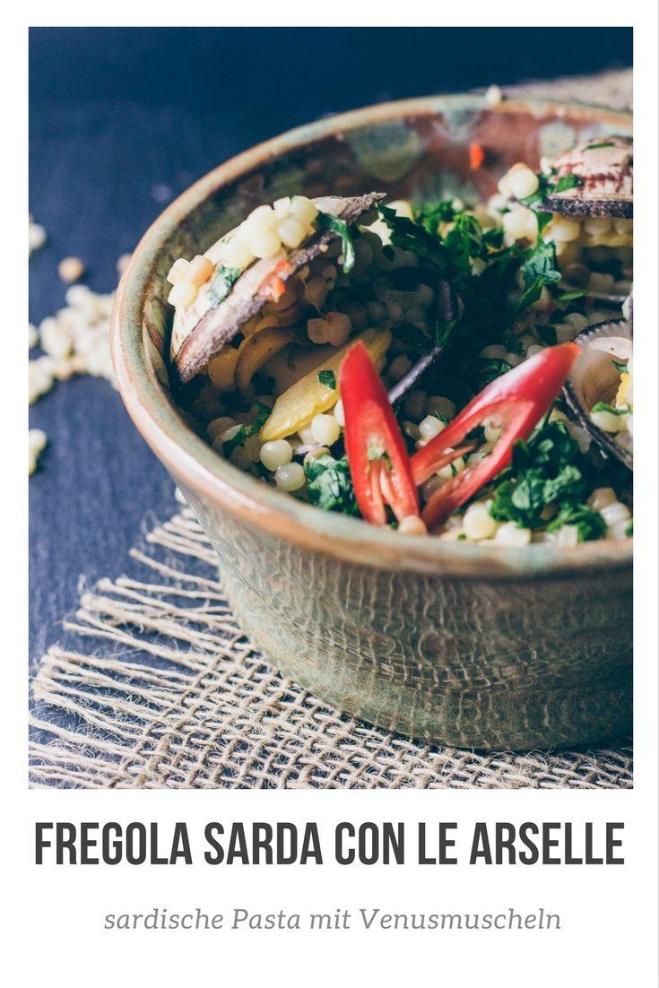 Fregola sarda con le arselle | Reiseblog und Foodblog Reisehappen