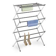 Clothes Drying Rack Target Use A Couple Of Chrome Drying Racks Outsidethe Pool To Hang