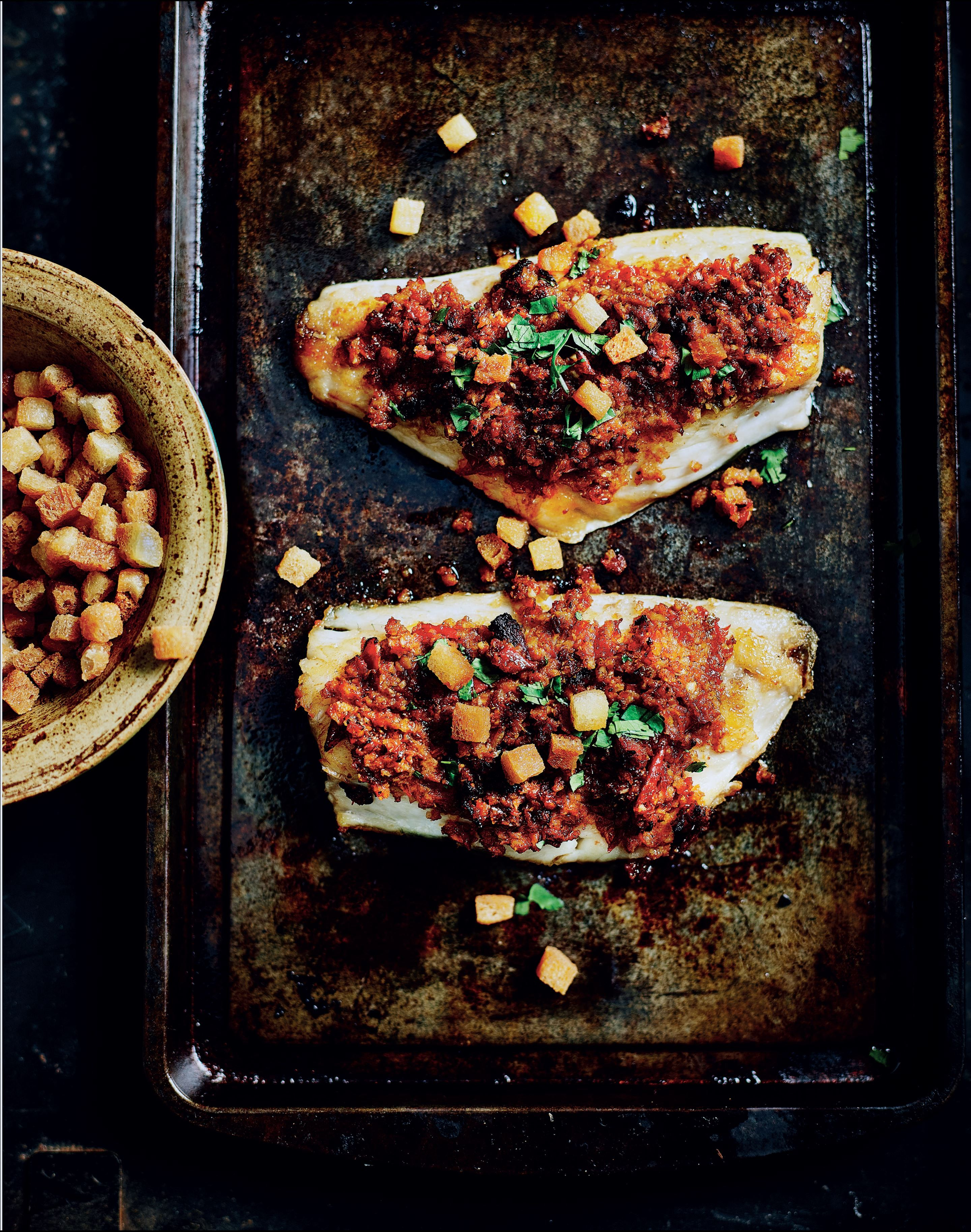 Sindhi Style Grilled Fish Recipe From I Love India By Anjum Anand