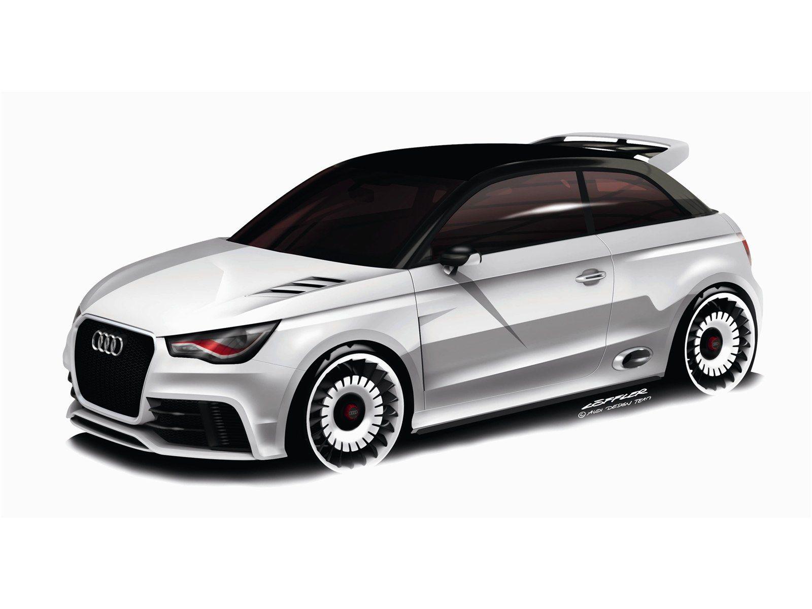 Audi A1 Clubsport Quattro Concept 2011 Audi A1 Audi Audi A1