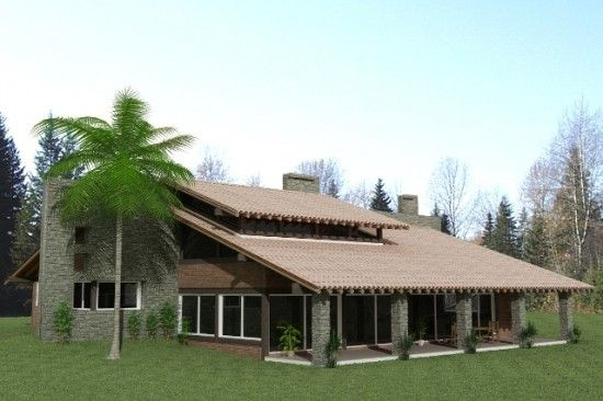 Projetos de casas de campo modernas itu house and villas for Casas bonitas de campo