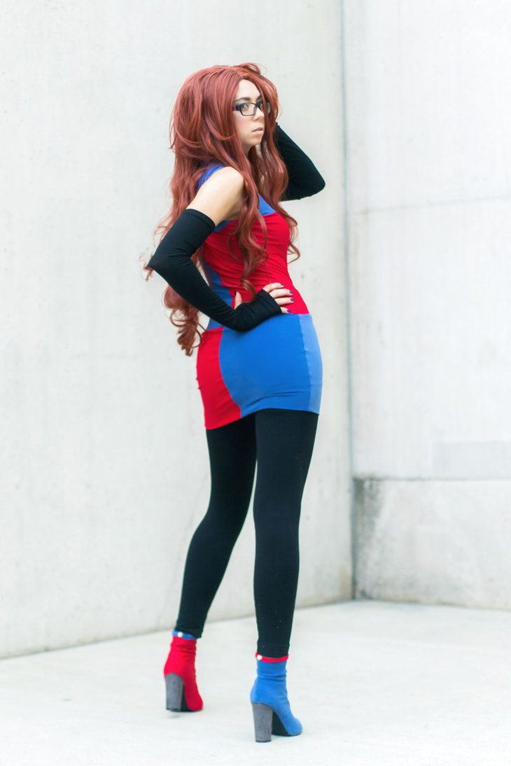 Android 21 cosplay by uncannymegan cosplayer uncannymegan cosplay android dragon ball - Dragon ball z 21 ...