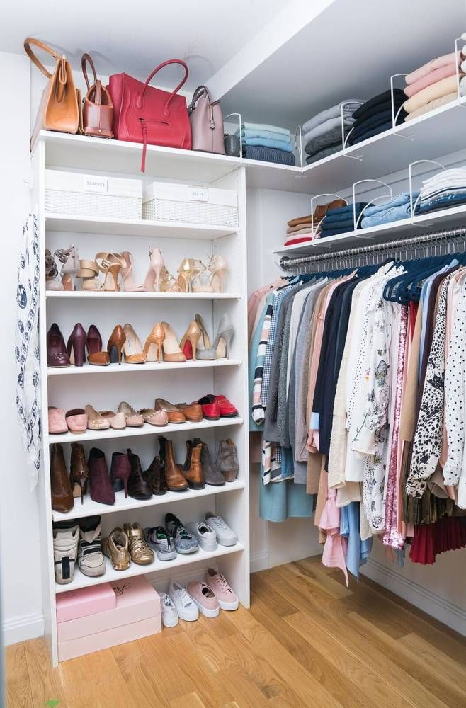 Your Guide To Organizing A Wardrobe Domino Apartment Closet Organization Closet Organization Closet Hacks Organizing