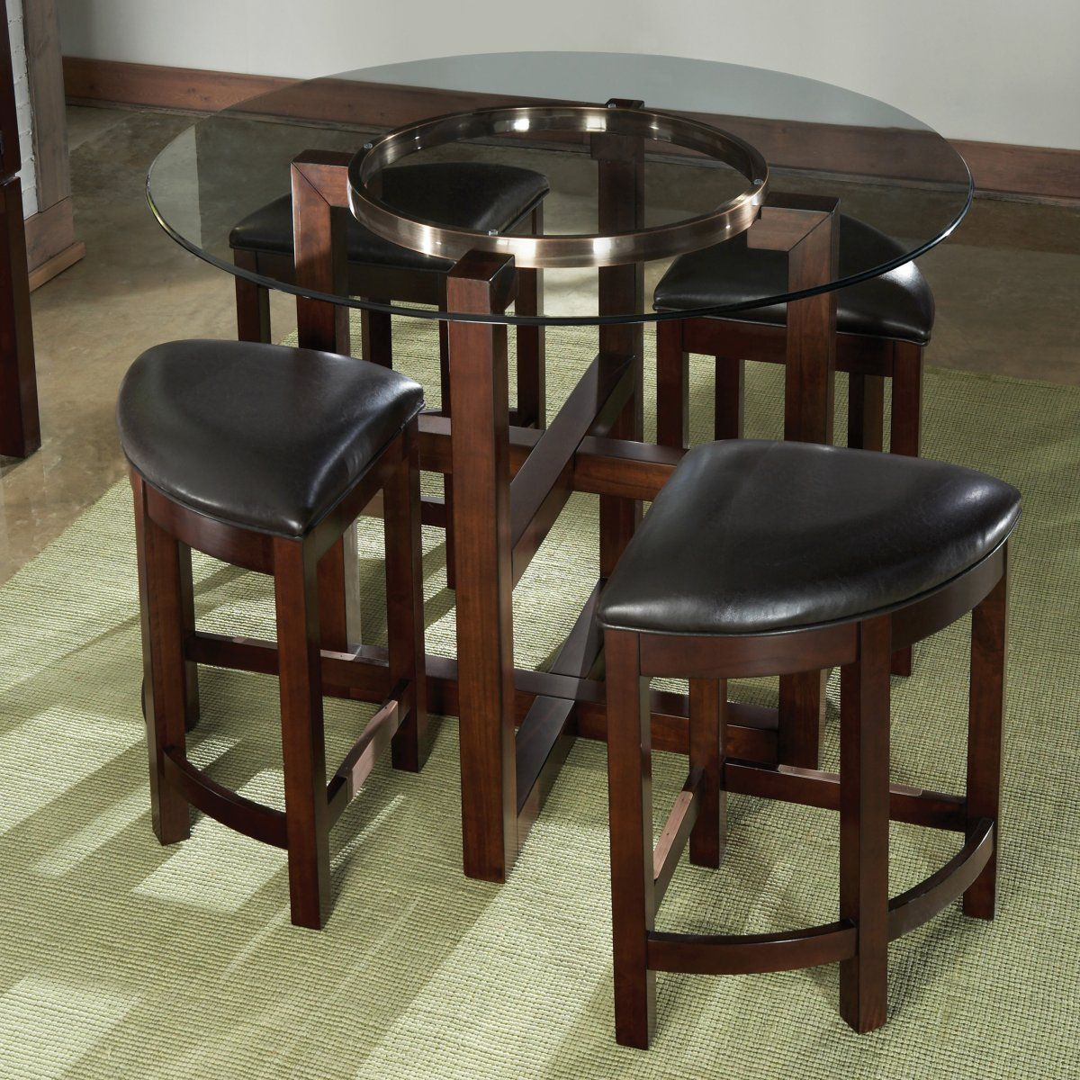 Nesting Stools Counter Height Set