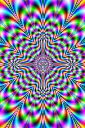 PSYCHODELIC PULSE OPTICAL ILLUSION FANTASY ART POSTER PRINT PICTURE