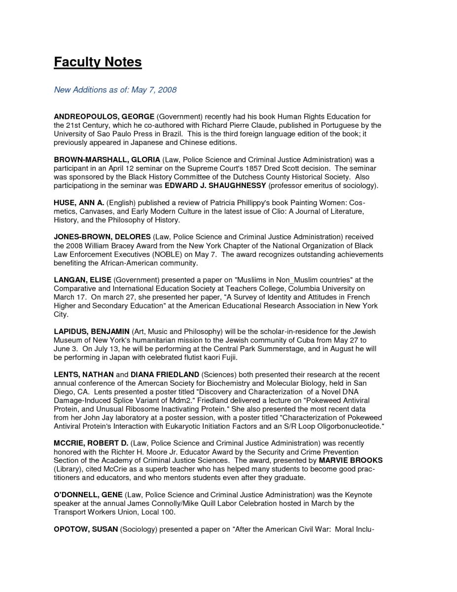 CRIMINAL JUSTICE 11 Criminal Justice Resume Objective Examples