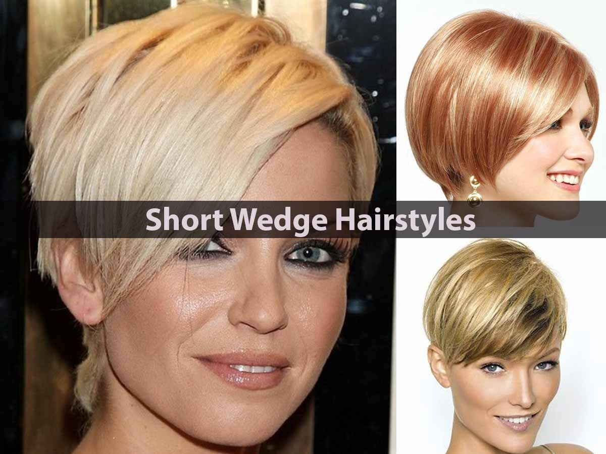the wedge hairstyle is a classic short haircut, which became