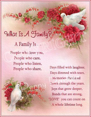 Poems About Family | What Is Family? | Poems | Pinterest | What ...
