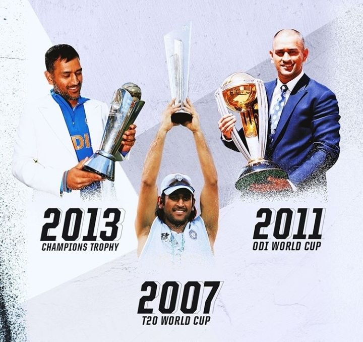 Ms Dhoni In 2020 World Cup Champions Trophy World Cricket