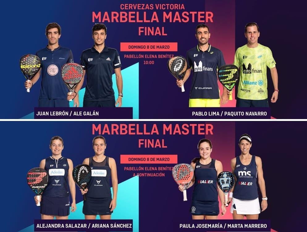 Final World Padel Tour Marbella Máster 2020 Padelstar Padel Marbella Finales