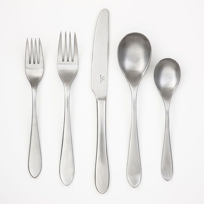 Robert Welch Meridian Satin Stainless Flatware Your Choice