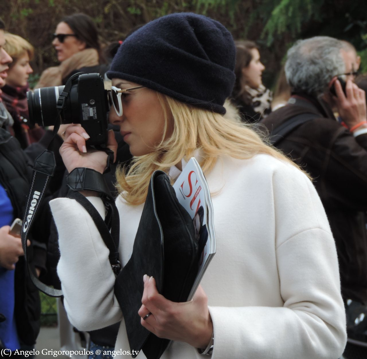 Paris Fashion Week Febr 2014 - Photo by Angelo Grigoropoulos @ angelos.tv