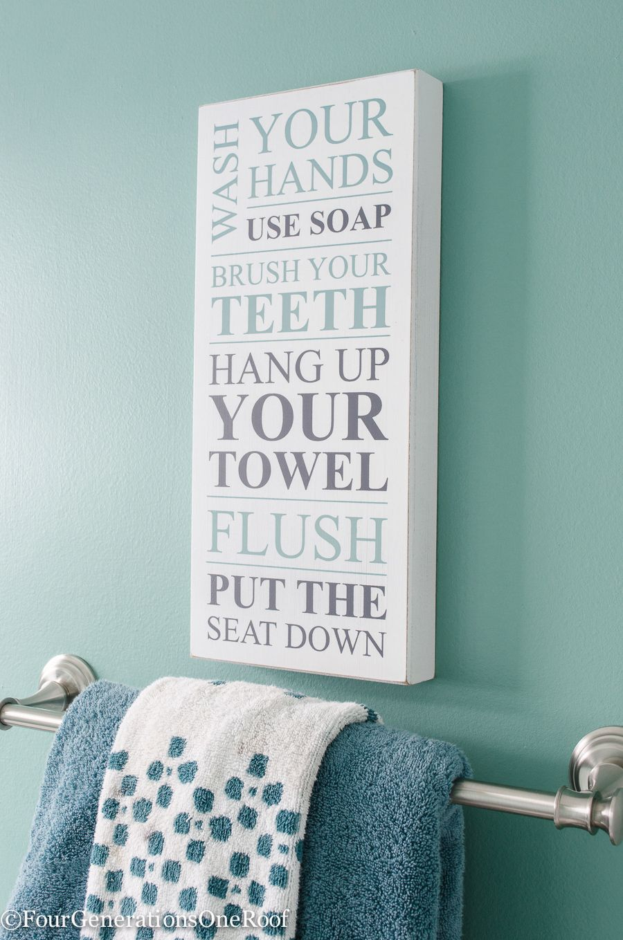 How To Update A Bathroom Bathroom Signs Unique Home