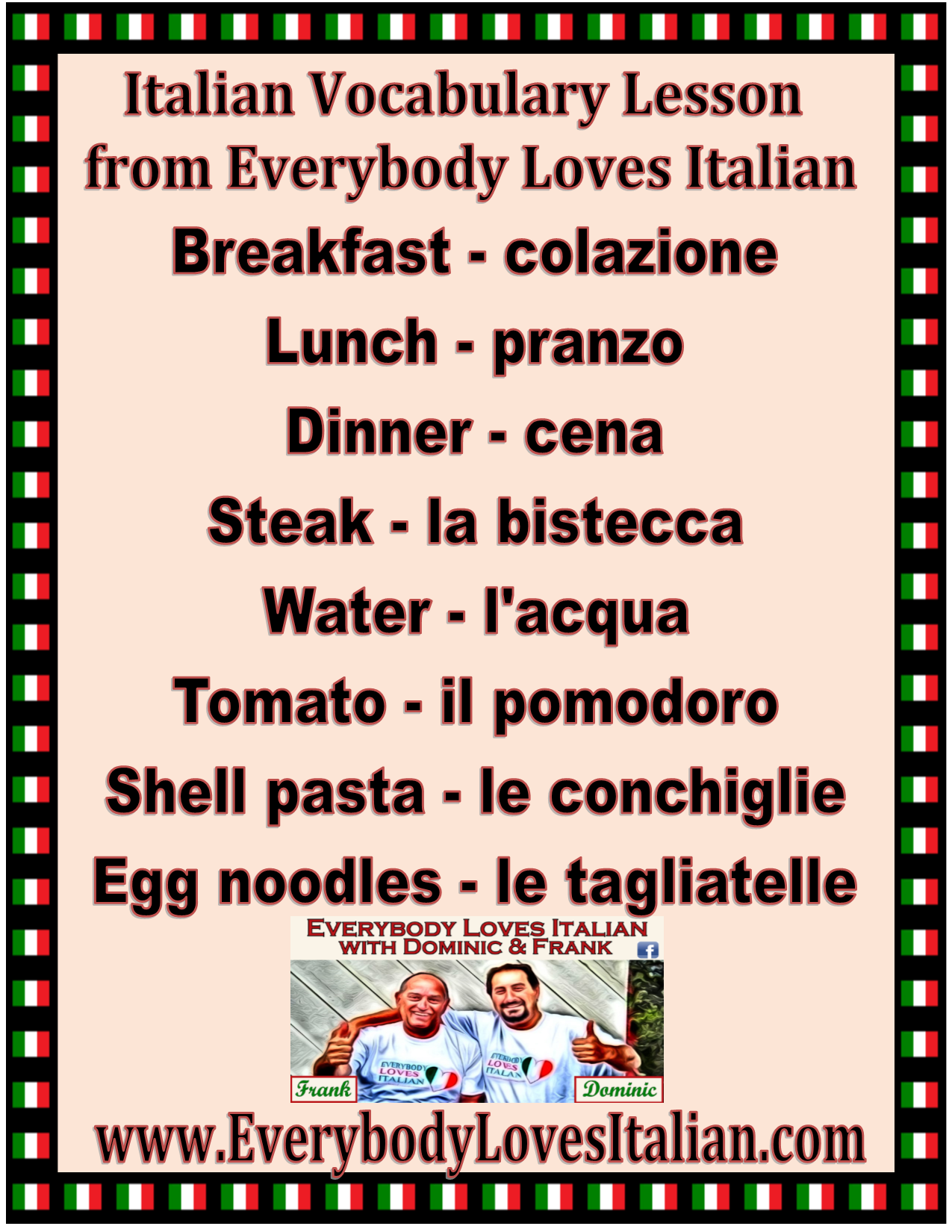 Pin By Margaret Cruthers On Learn Italian