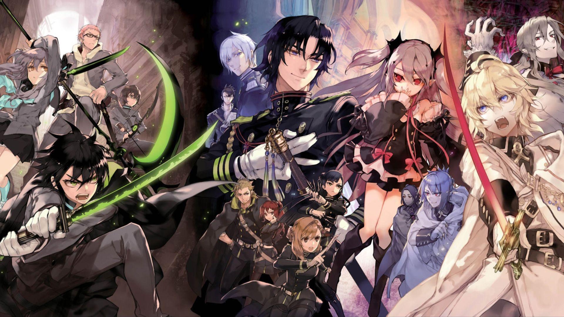 Owari no Seraph Drama Vampire Anime Wallpaper Seraph of