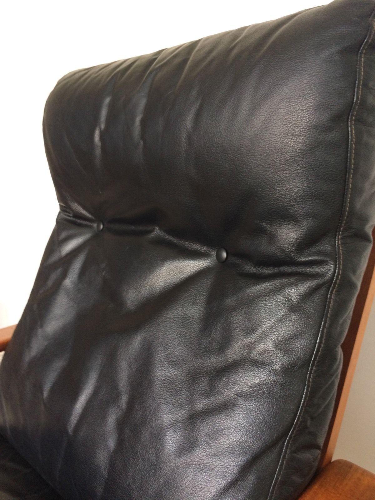 arne wahl iversen komfort lounge chair teak 60s danish design, Wohnzimmer dekoo