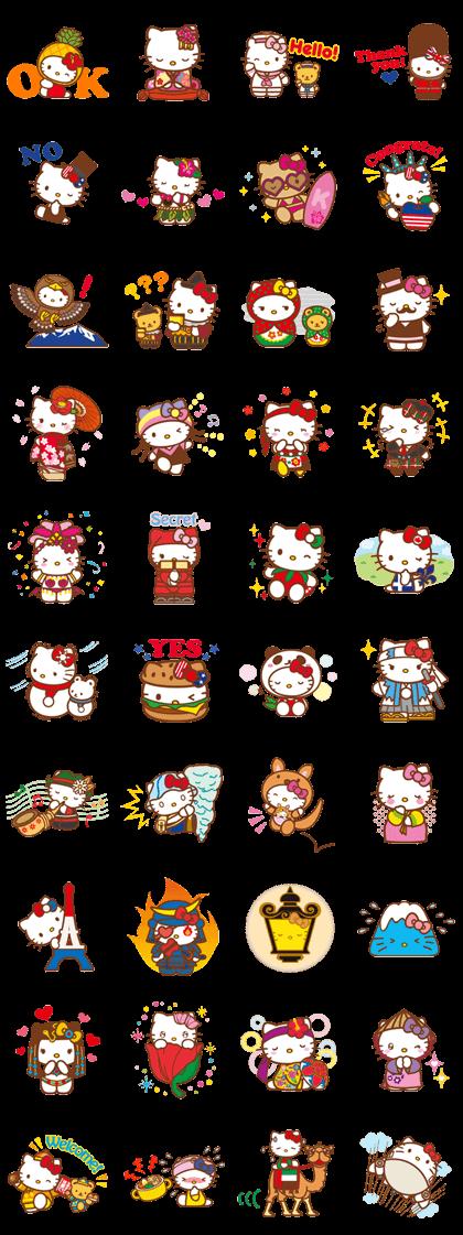 Hello Kitty Animated Stickers Line Sticker Hello Kitty Wallpaper Hello Kitty Hello Kitty Images