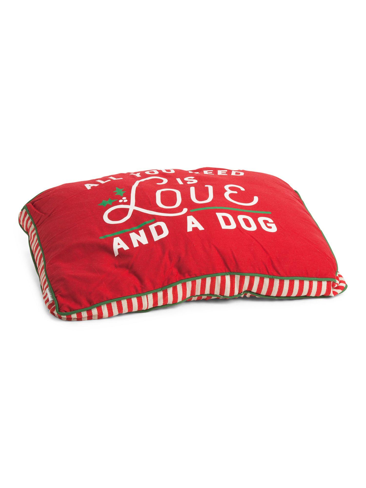 Large Watercolor Pups Dog Bed New Arrivals T.J.Maxx