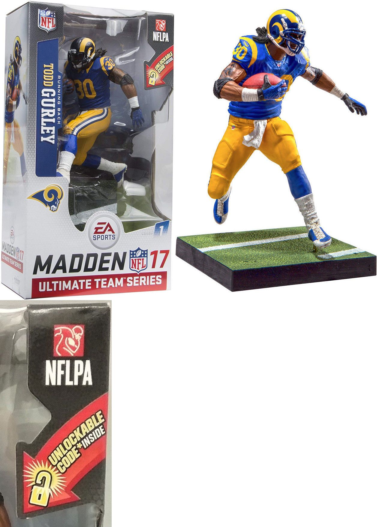 Sports 754 Mip Mcfarlane Toys Ea Sports Madden Nfl 17 Ultimate Team Todd Gurley Rams Buy It Now Only 20 99 On Ebay S Madden Nfl Sports Ea Sports Madden