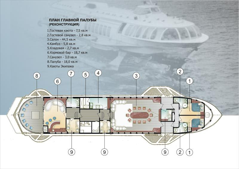 Luxury Yacht Floor Plans