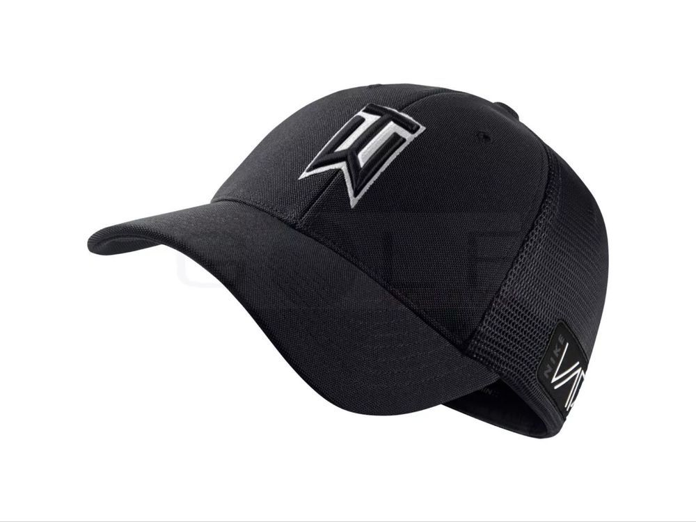 f117defb8b8 Nike Golf Men s Tiger Woods TW Golf Hat 639668 Black Large X-Large Vapor   Nike