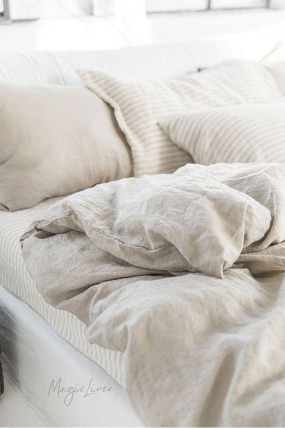 Natural Linen Color Duvet Set Bed Linens Luxury Bed Linen Design White Linen Bedding