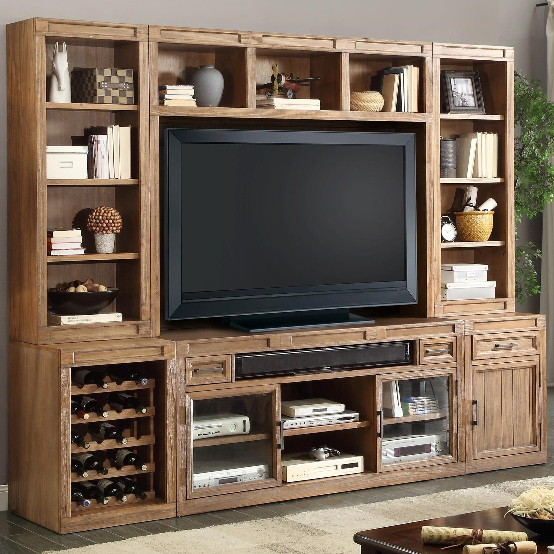 Ordinaire Shop For The Parker House Hickory Creek 6 Piece TV Console Set At Godby  Home Furnishings   Your Noblesville, Carmel, Avon, Indianapolis, Indiana  Furniture ...