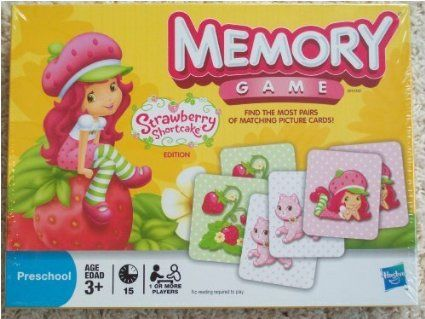 Amazon.com : Strawberry Shortcake Memory Game : Toys & Games