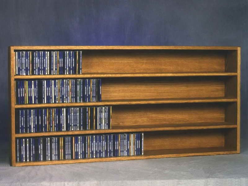 fine looking wall mounted cd storage