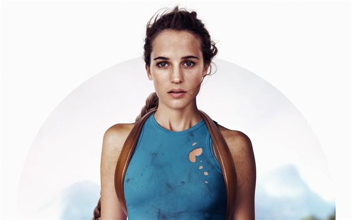 Lataa kuva Tomb Raider, 2018, Alicia Vikander, Lara Croft, Trilleri