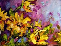 Resultado de imagen para sunflower oil painting