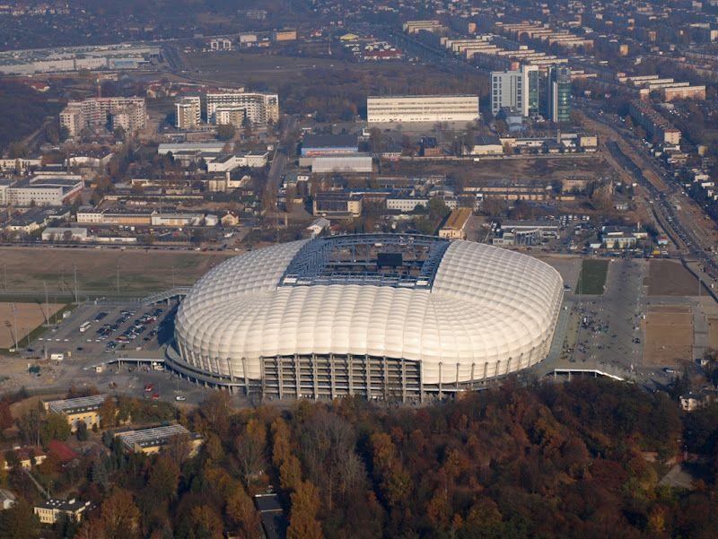 The City Stadium in Poznań / UEFA Euro 2012 Poland & Ukraine / Stadion Miejski w Poznaniu fot. Carte