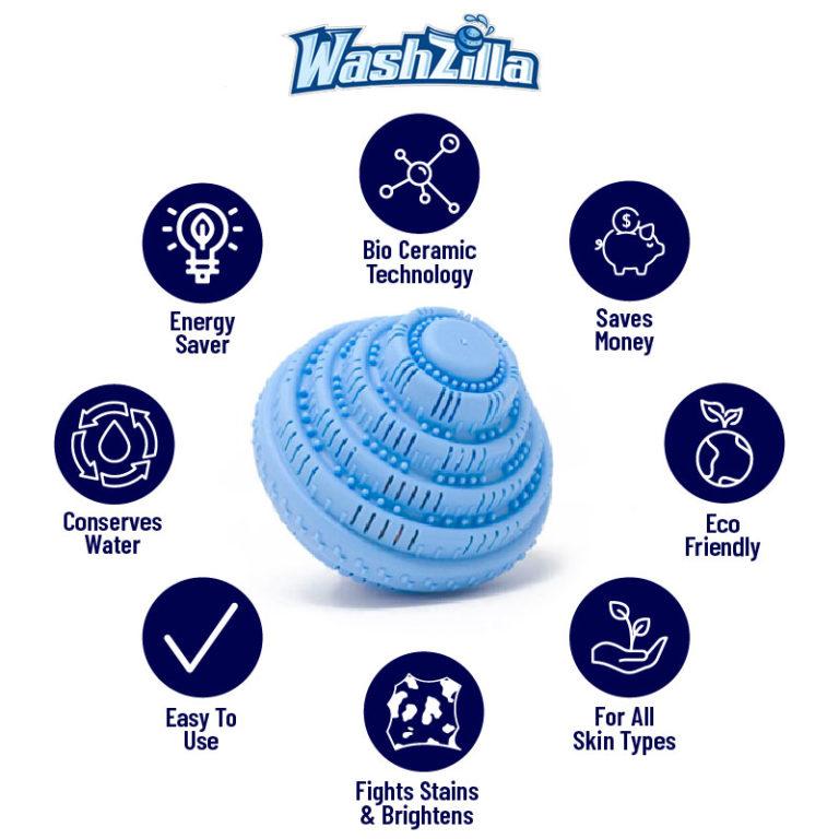 Washzilla Laundry Ball Washing Ball Laundry Pods