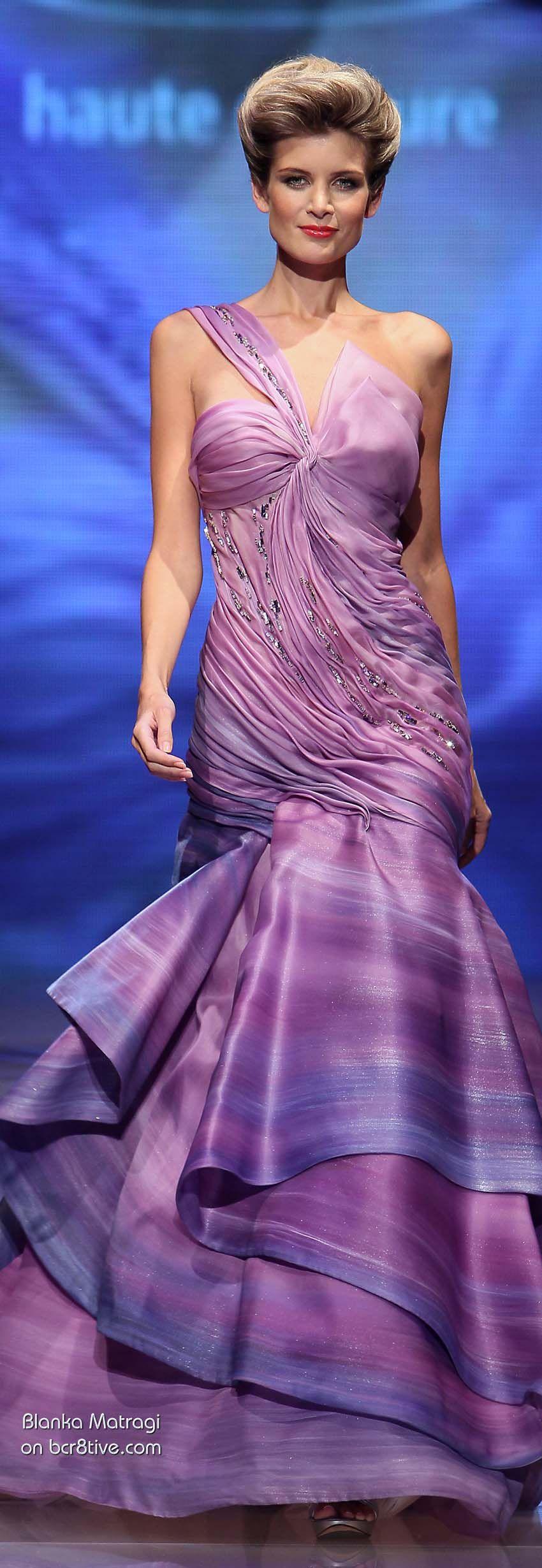 Blanka Matragi\'s 30th Anniversary Couture Runway Collection ...