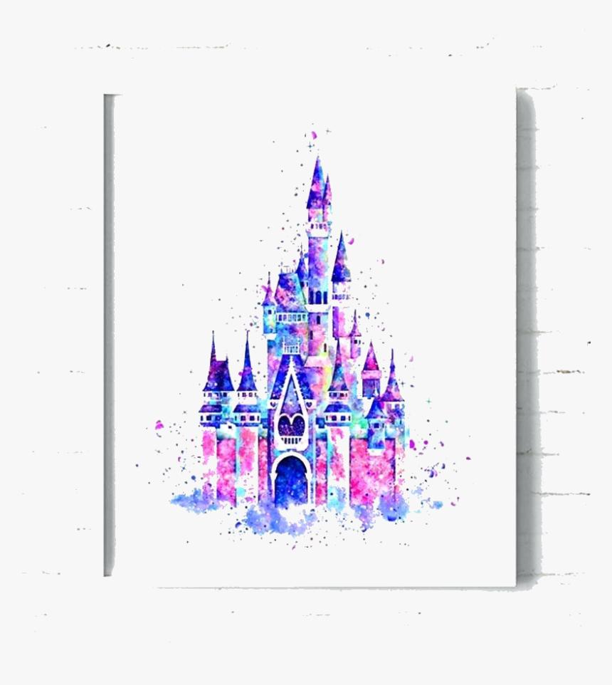 Cinderella Castle Disney Art Transparent Png Disney Castle Clipart Png Download Is Free Transparent Png Image Painting Burlap Poster Wall Art Poster Prints