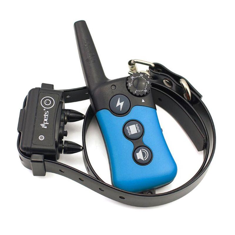 Us Eu Uk Au Plug Blue Black Rechargeable 300m Range Dog Training