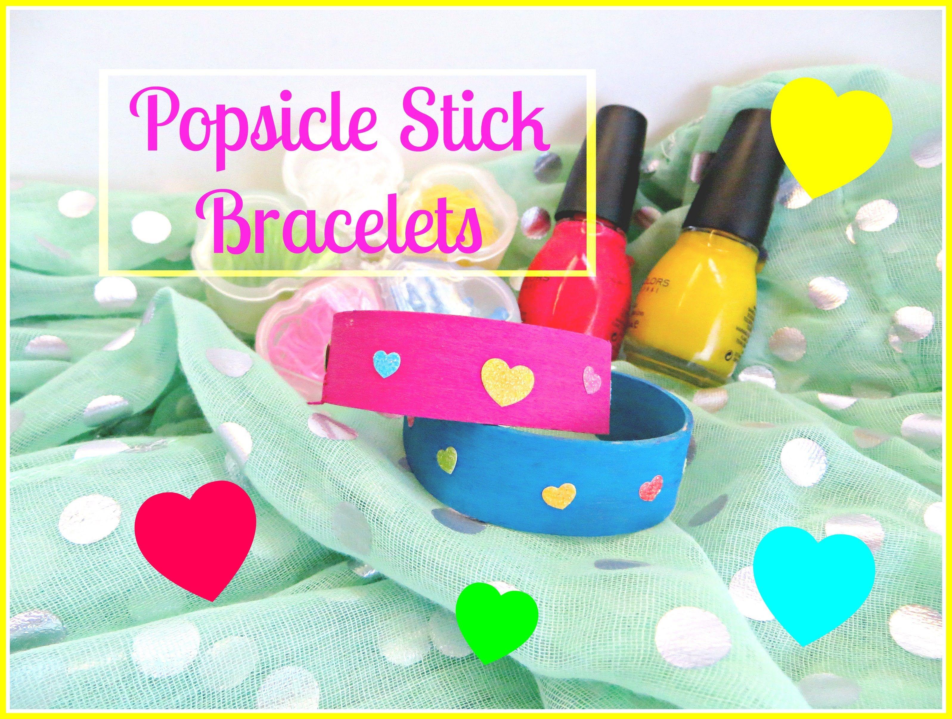 How to make popsicle stick/craft sticks/tongue depressors ...