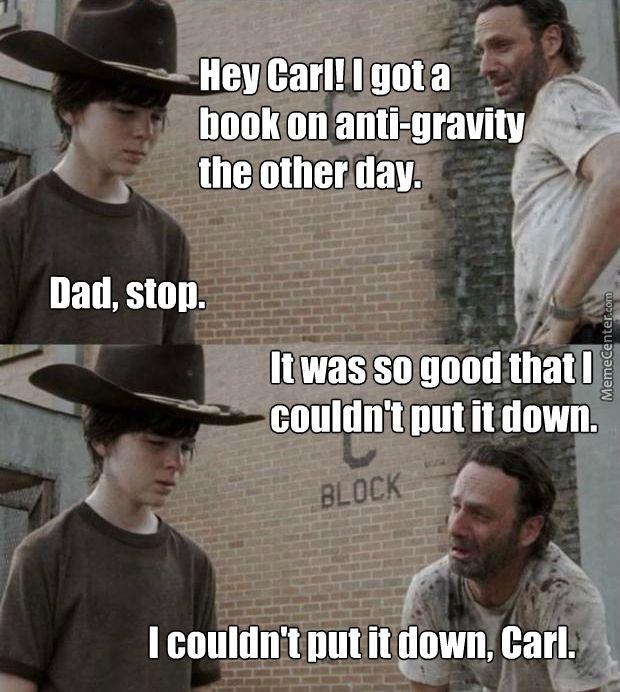 Walking Dad Jokes, Walking Dead