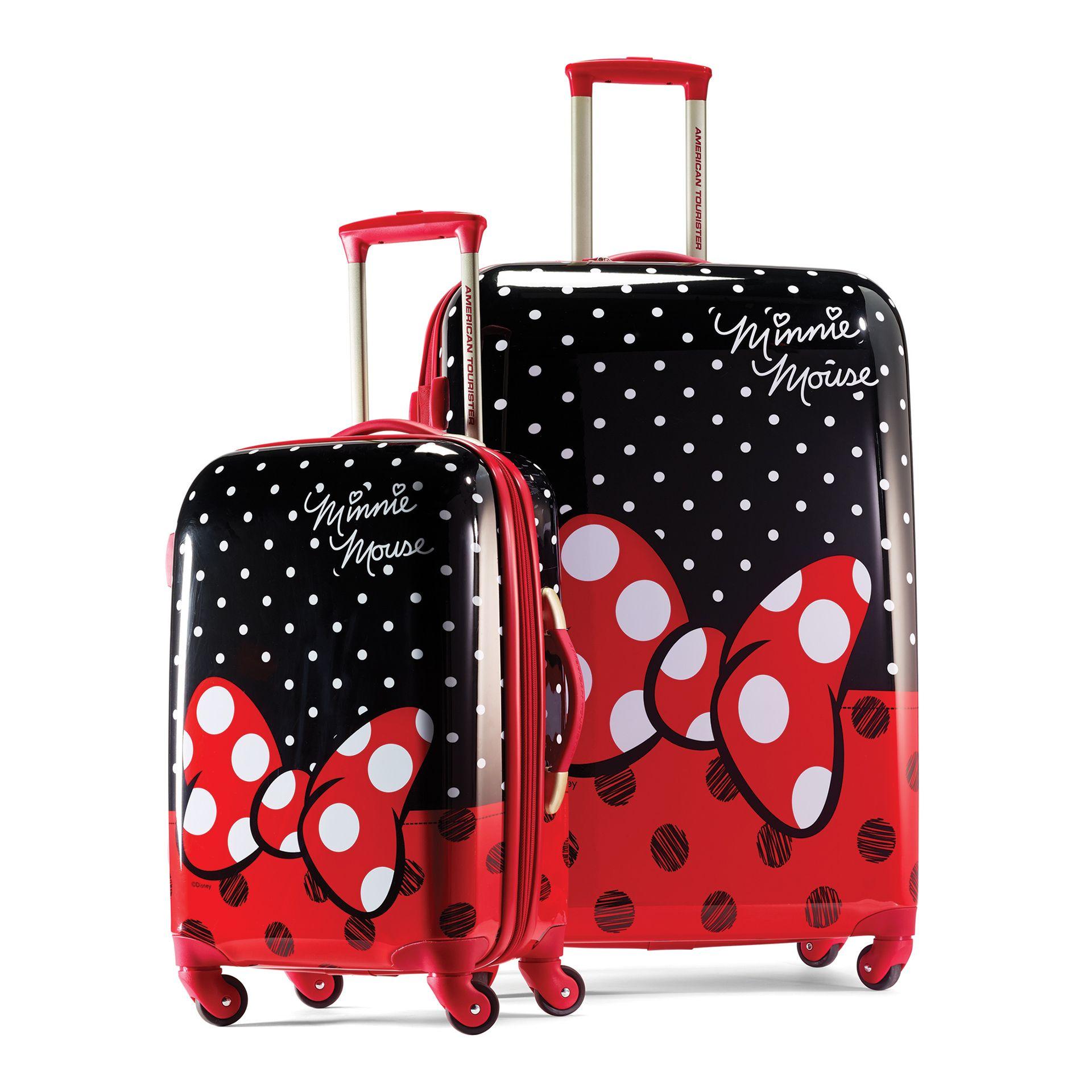 American Tourister Disney Luggage Set For Kids Take A Walk Down - Lightning mcqueen custom vinyl decals for cardisney pixar cars a walk down cars advertising memory lane take