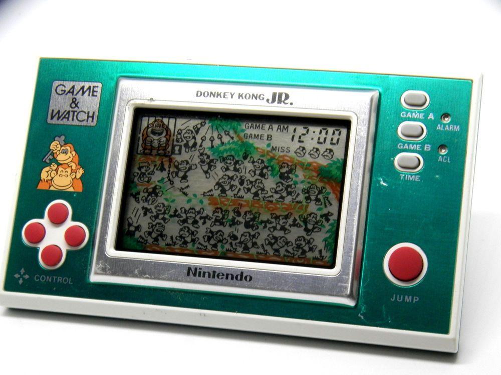 Nintendo Game & Watch New Wide Donkey Kong Jr. DJ101 MIJ