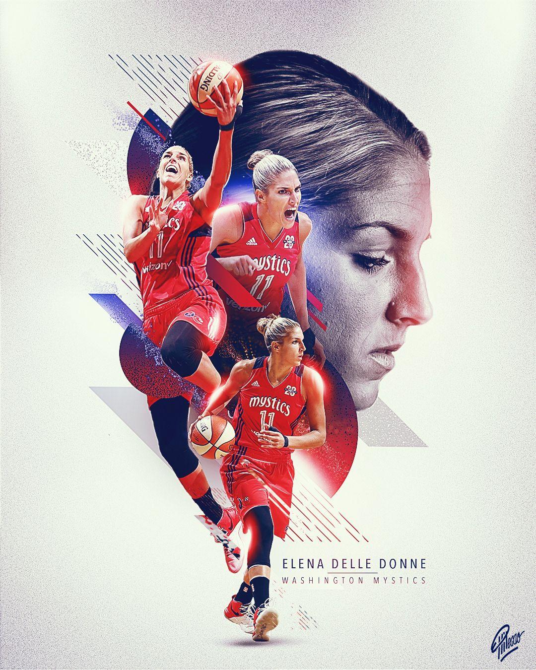 Wnba Collection Vol 1 On Behance Sport Poster Design Sports