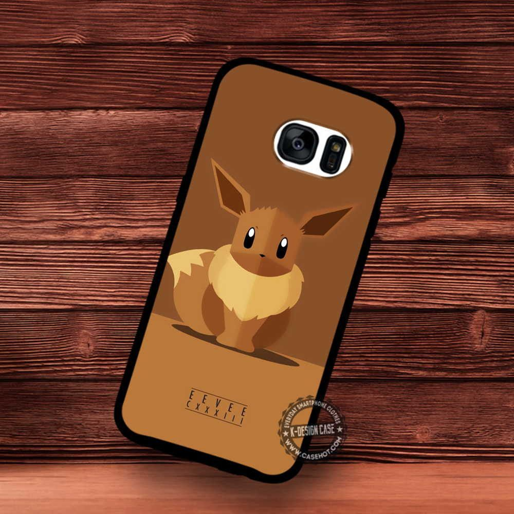 Pokemon Eevee Wallpaper Pikachu - Samsung Galaxy S7 S6 S5 Note 7 Cases & Covers