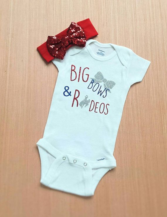 Big Bows And Rodeos Rodeo Shirt Rodeo Onesie Western Baby