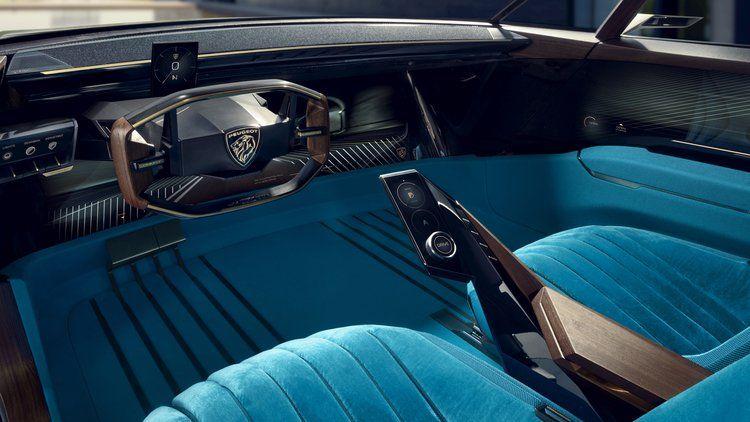 Peugeot E Legend Concept Revealed Caradvice Automotive Interior