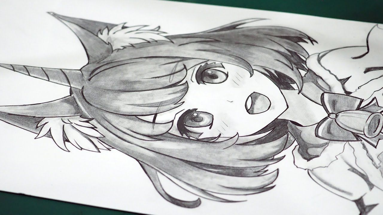 How To Draw Anime Unicorn Girl Anime Drawing Tutorial For Beginners Girl Drawing Drawing Tutorial Anime Drawings
